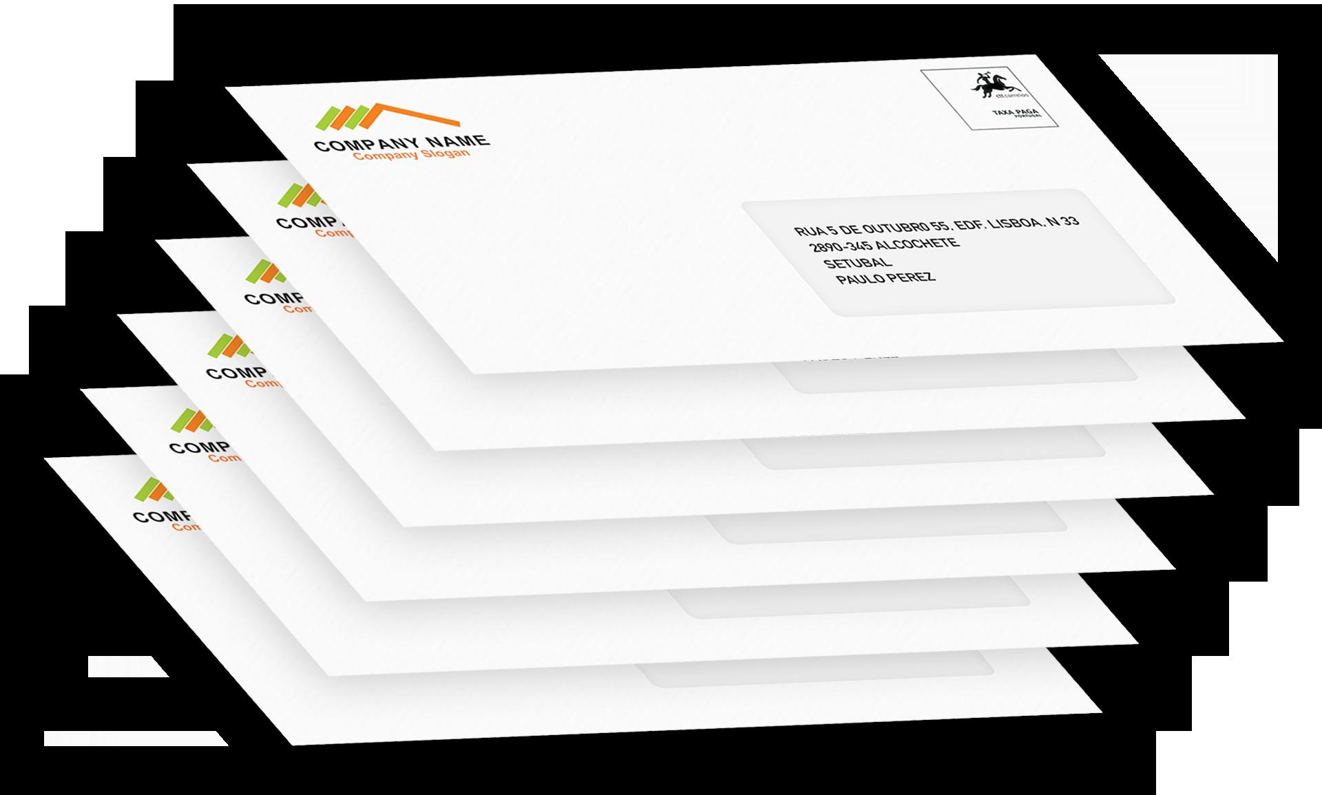 Envelpes Personalizados Correio Hibrido
